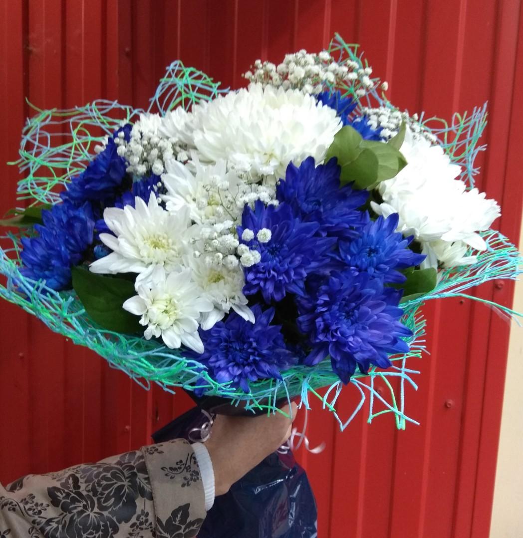 большой букет синие хризантемы фото решили вспомнить звезд